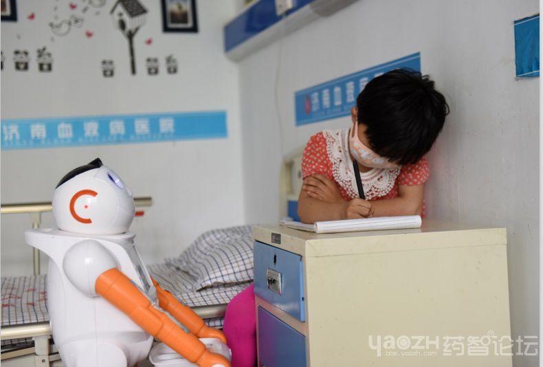 济南血液病医院怎么样 机器人大白真的可以照顾好再障女
